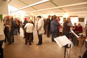 """Nymphenspiegel im Grünen Saal des Botanischen Gartens präsentiert eine Ausstellung des Künstlerkreises """"Kauz"""""""